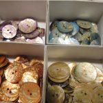 Bottoni, nastri, filati e aguglieria nella merceria storica