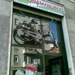 Il ciclista di Porta Romana