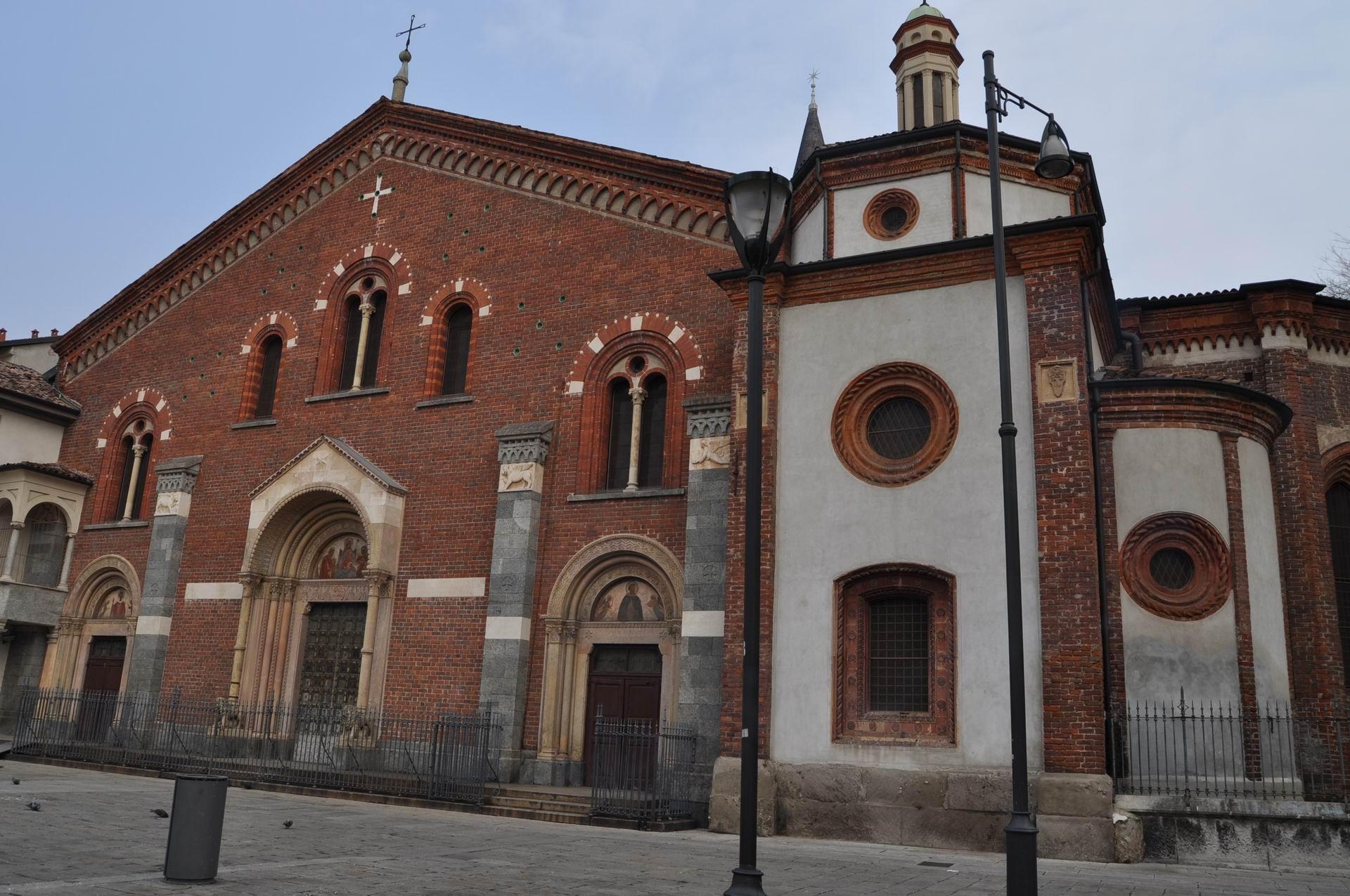 Visita gratuita alle tombe paleocristiane di sant for Piazza sant eustorgio