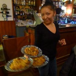 Un brunch uzbeco-russo-coreano da Irina