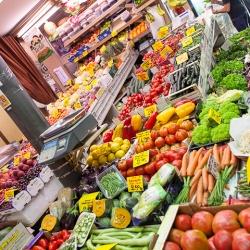 Visita guidata al mercato con chef (e assaggio)