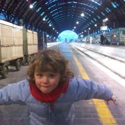 Gita coi bambini in Stazione Centrale