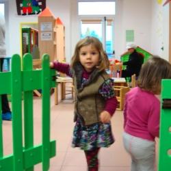 Uno spazio per bambini alla Barona