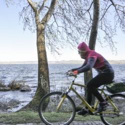 Un giro in bici attorno al lago di Varese